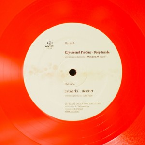 Restrict / Deep Inside 12″ by Cutworks / Roy Green & Protone (Coloured Vinyl)