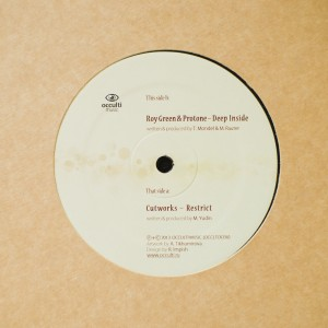 Restrict / Deep Inside 12″ by Cutworx / Roy Green & Protone (Black Vinyl)