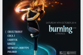 Occulti Music, 4 October 2014 — Burning Series & Friends