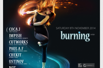 8 November 2014 — Burning Series ft. Occulti Music & iDnB (Party)
