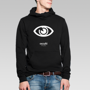 Occulti Music Hoodie Male 2015 (Black / Gray)