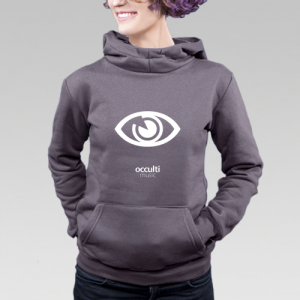 Occulti Music Hoodie Female 2015 (Gray)