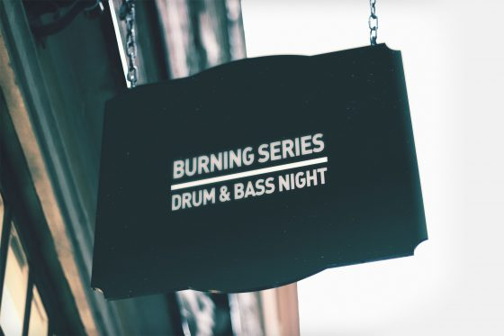 9 October 2020, Burning Series drum & bass night